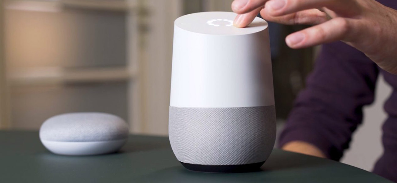 Case Pathé Google Home - Egeniq